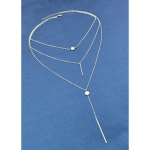 Jewelry - **NEW!!!** Silver Multilayer Necklace